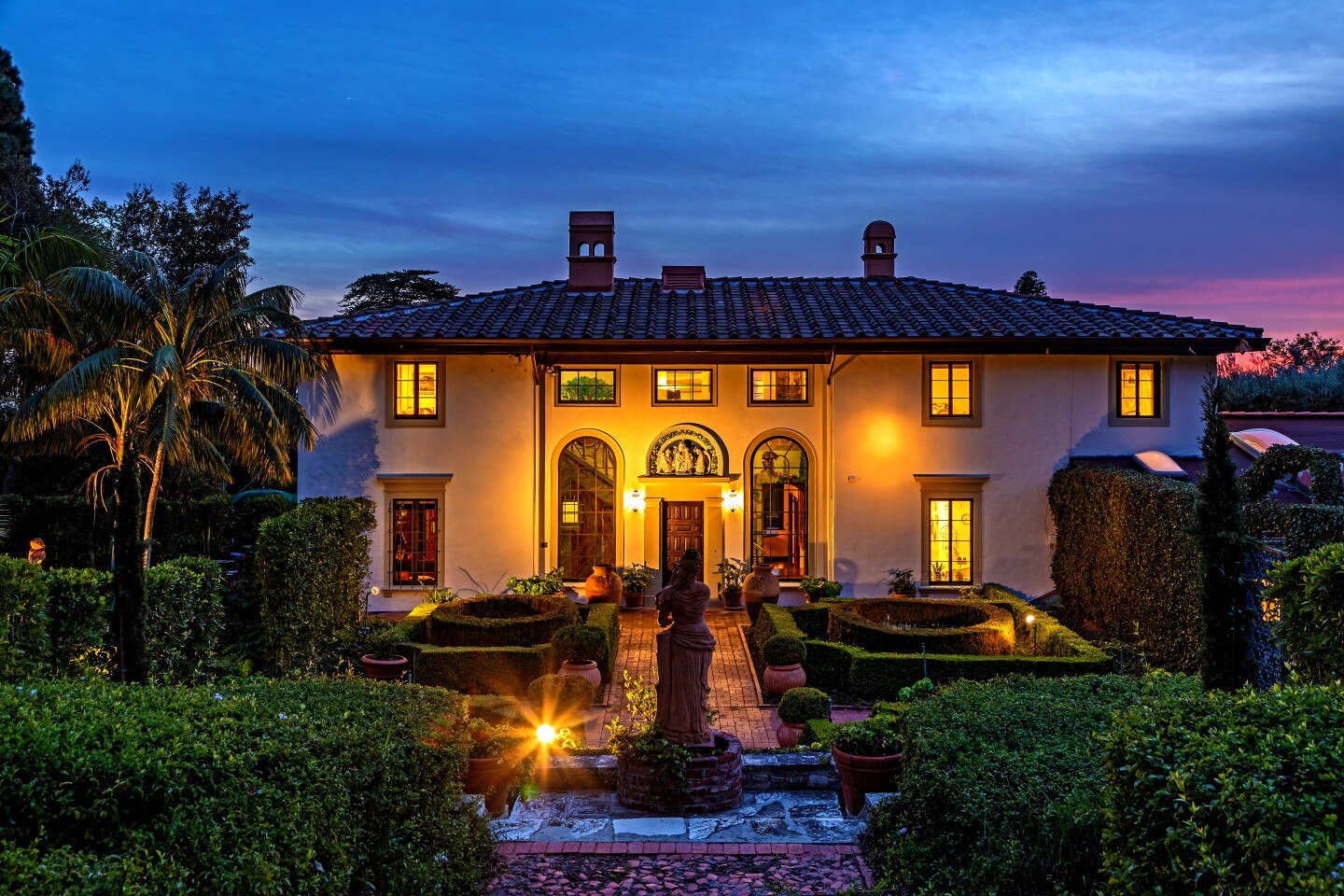 The Villa Narcissa estate in Rancho Palos Verdes encompasses more than 11 acres.