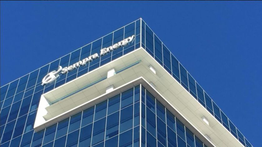 Executives at Sempra Energy downplay any problems the company would have should Mexico and the Trump administration clash