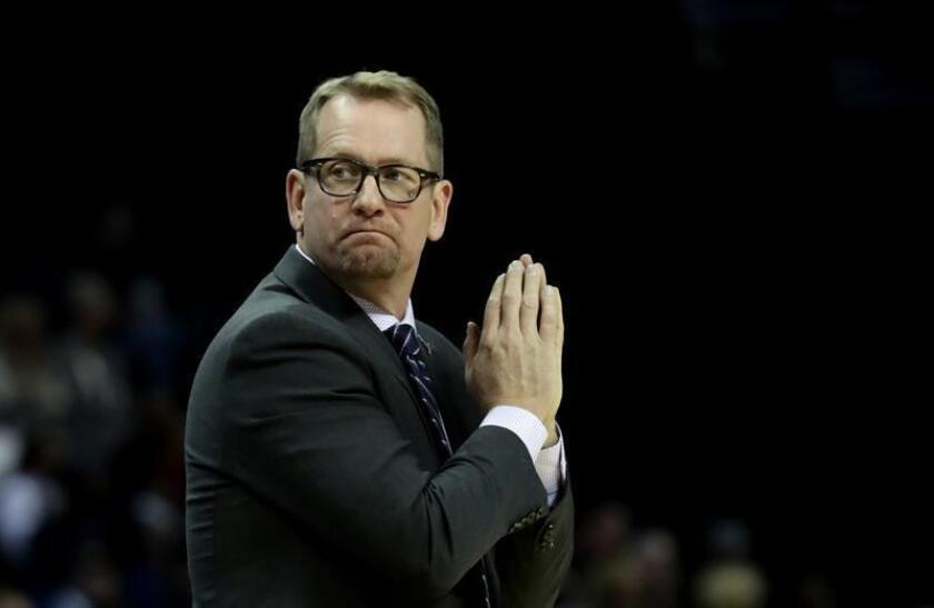 El entrenador de Toronto Raptors, Nick Nurse. EFE/Archivo