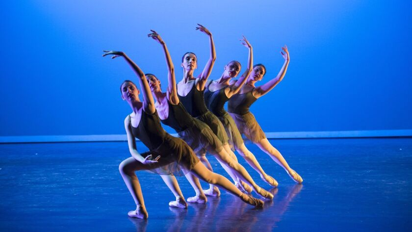 Suite Vivaldi was performed in its entirety during the California Ballet's program Saturday night.