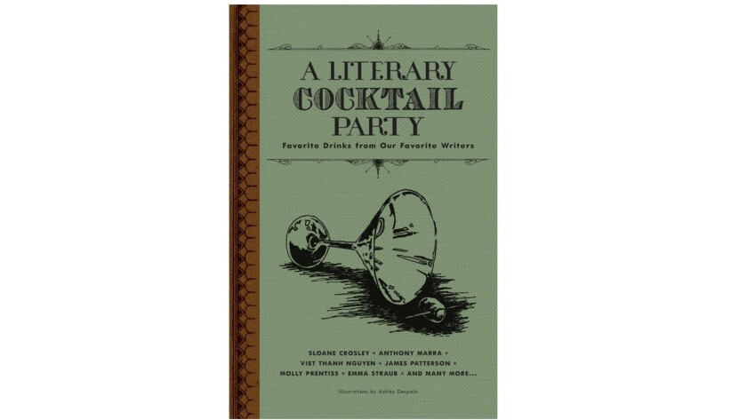 """Have a drink with your favorite writer via """"A Literary Cocktail Party."""""""