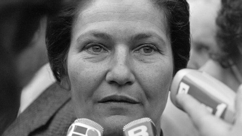 Simone Veil in 1977.