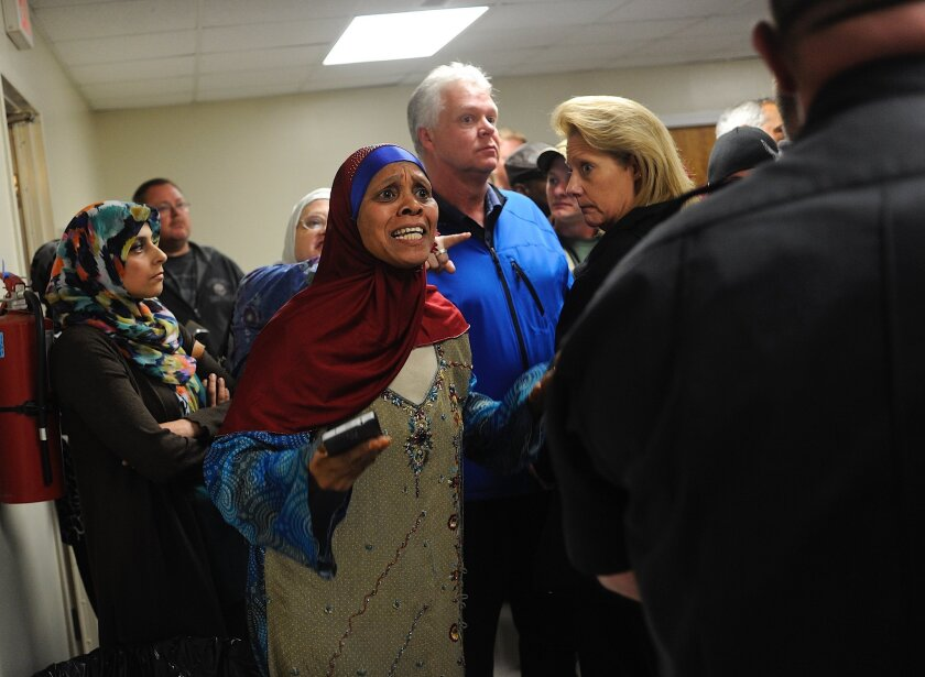 Strong feelings surfaced at a public meeting in Spotsylvania County, Va., over plans to build a new mosque.