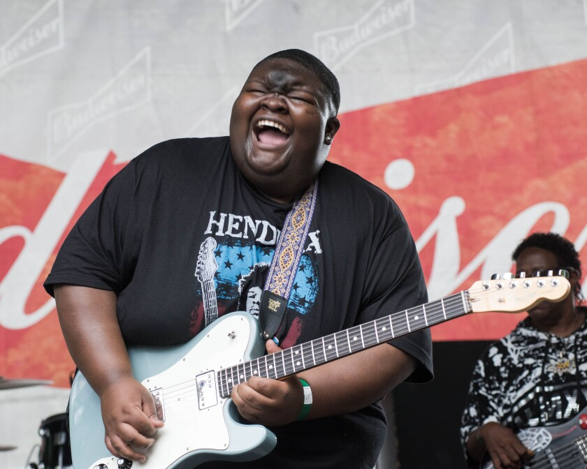 """Now 22, blues dynamo Christone """"Kingfish"""" Ingram was just 14 when he made his debut at the White House."""