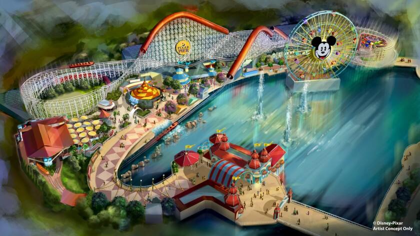 Disney California Adventure -Pixar Pier