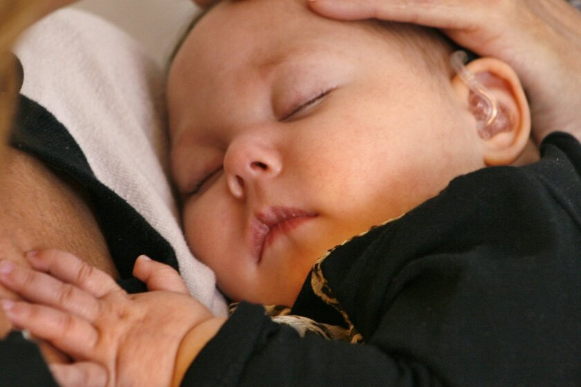 Cuddlers soothe babies too sick, tiny to go home - The San