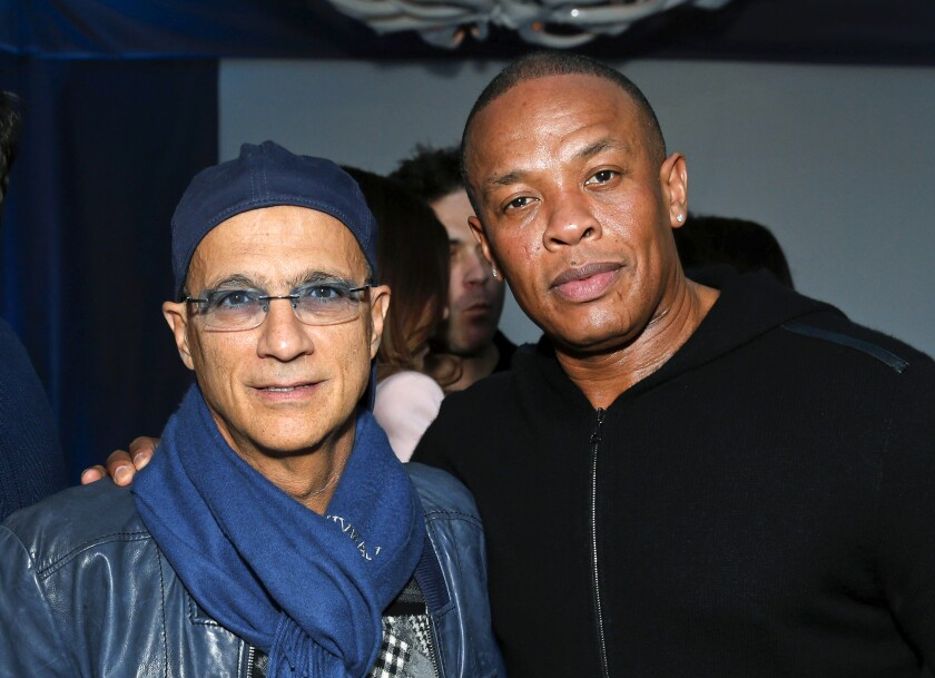 People Dr Dre Jimmy Iovine