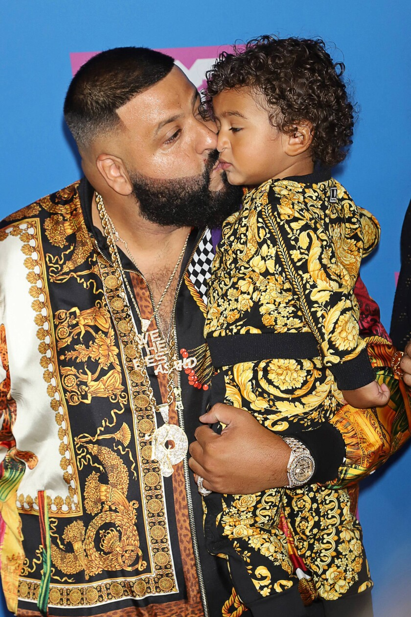 For his birthday, DJ Khaled's son gets Marlins Park