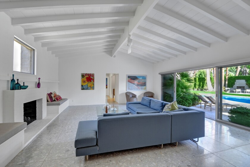George Montgomery and Dinah Shore's onetime Palm Springs home   Hot Property