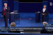 Presidential candidates...compliment each other?