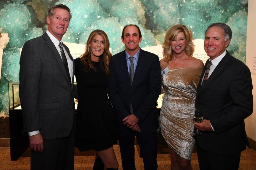 John Vance and Christy Billings, Micah Parzen (SD Museum of Man CEO [beneficiary]), Kristi Pieper, Mark Dillon (SD Museum of Man board chair [beneficiary])