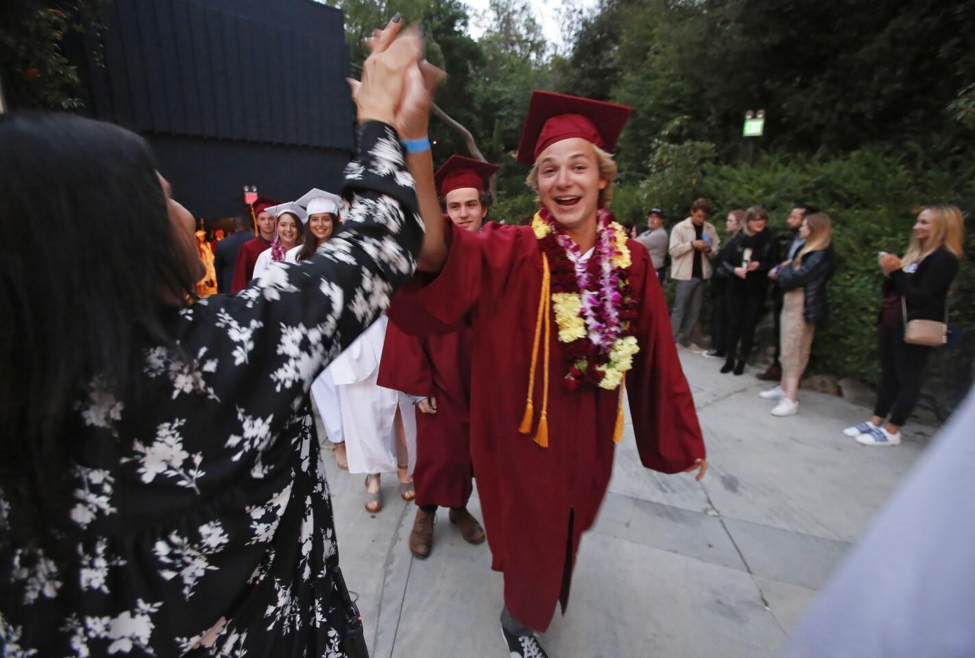 Laguna Beach High class of 2019 graduation ceremony