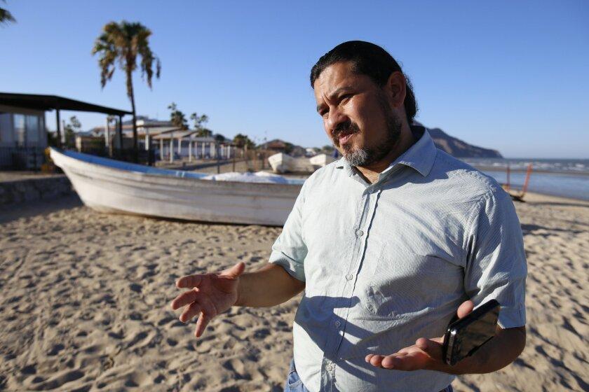 El biólogo Sergio Pérez de Ceido.Alejandro Tamayo/U-T