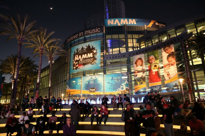 ANAHEIM, CA - JANUARY 23: A general view of atmosphere at the 2015 National Association of Music Merchants show at the Anaheim Convention Center on January 23, 2015 in Anaheim, California. (Photo by Jesse Grant/Getty Images for NAMM)