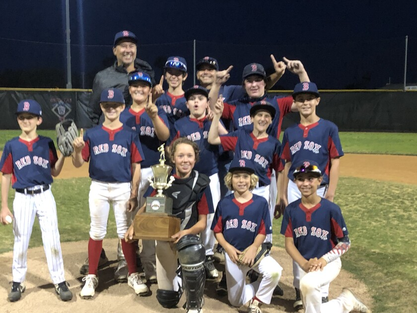 ENLL Red Sox Majors team beats ELL to take back the Leo Mullen Cup