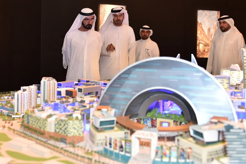 Dubai's planned Mall of the World