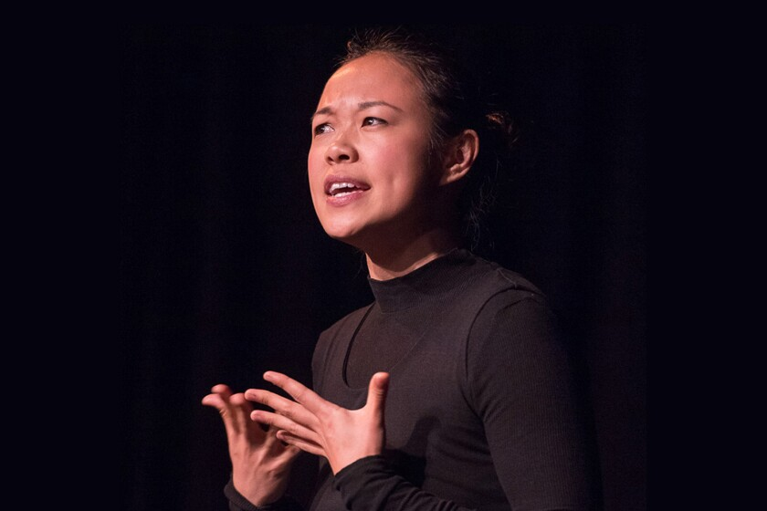 """Writer-performer Nancy Ma brings her coming-of-age drama """"Home"""" to Los Angeles Theatre Center."""
