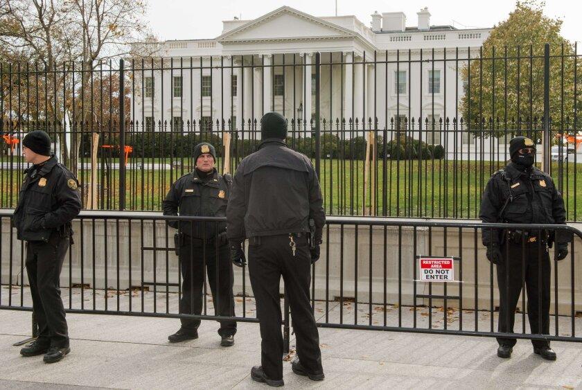 Secret Service at White House