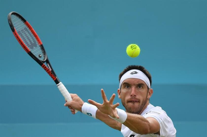 Leonardo Mayer, tenista argentino. EFE/Archivo