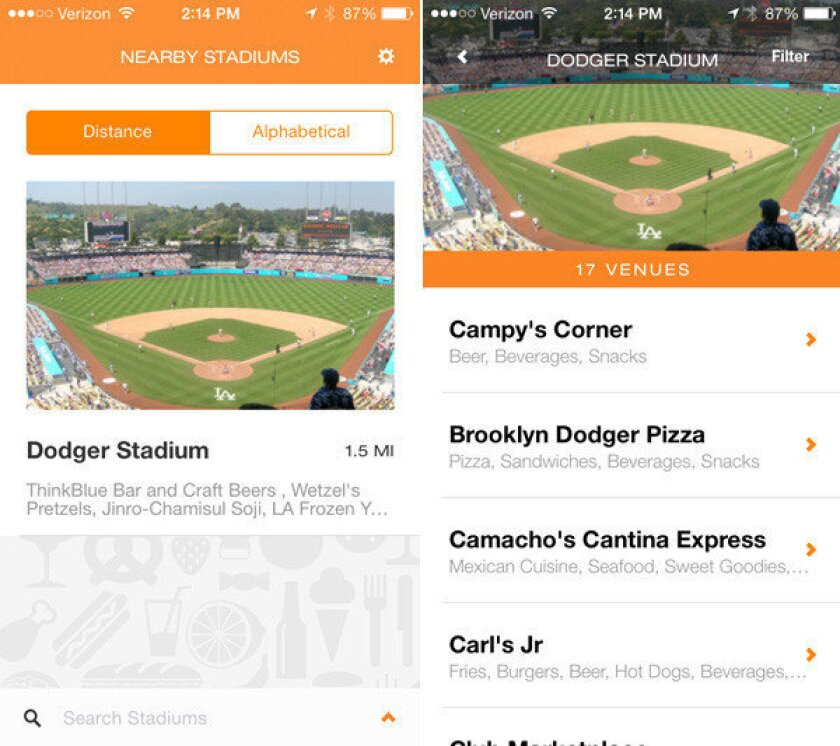 New Hungry Fan smartphone app could be the Yelp of stadium