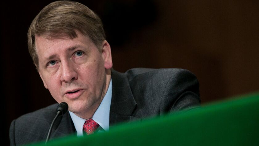 WASHINGTON, DC - MARCH 12: Richard Cordray, nominee for director of the Consumer Financial Protecti