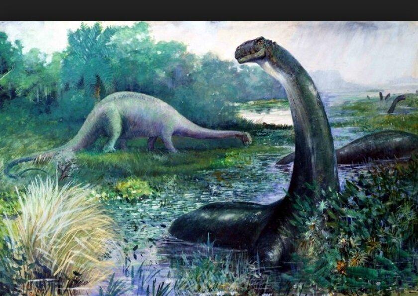 Brontosaurus roamed the Earth 150 million years ago.