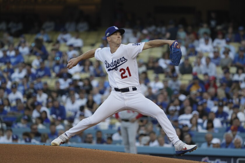 Walker Buehler vs. Stephen Strasburg a fitting NLDS finale - Los ...