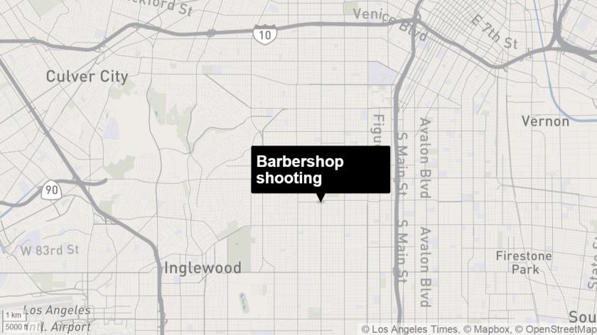 Barbershop shooting