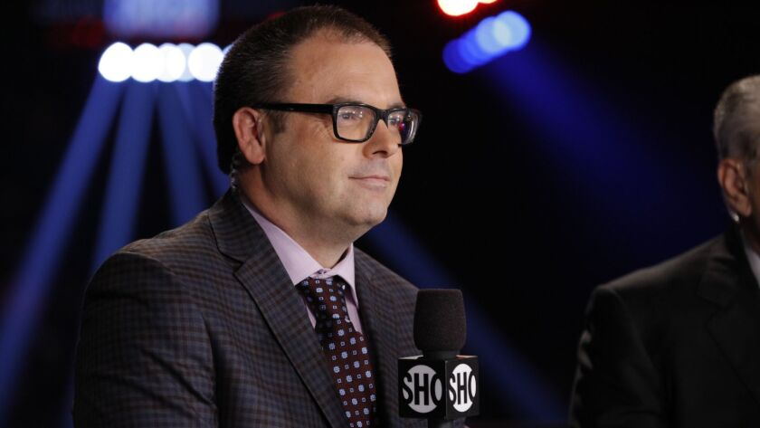 """Combat sports announcer Mauro Ranallo is subject of the Showtime documentary """"Bipolar Rock 'N' Roller."""""""