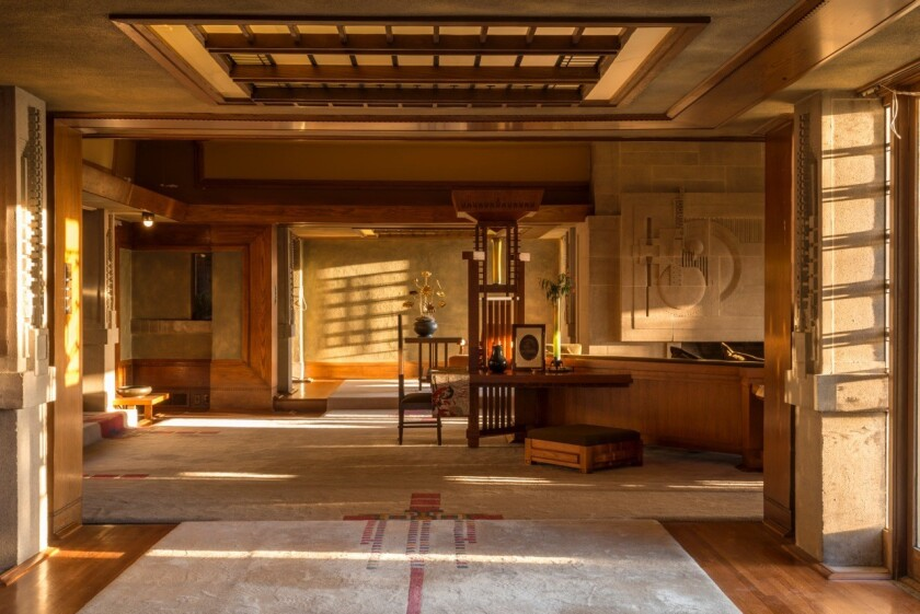 Frank Lloyd Wright's Hollyhock House will reopen to the public on Feb. 13.
