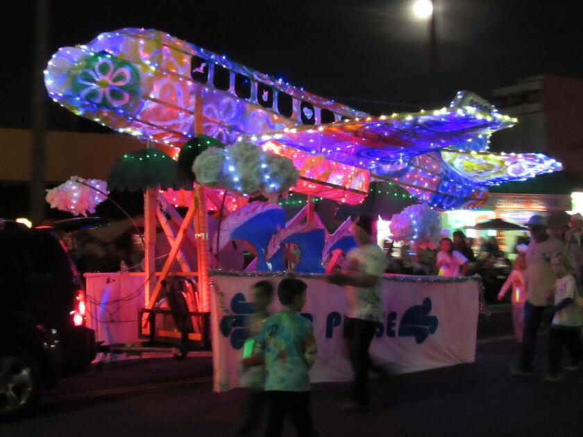 "OB Holiday Parade: With the 2018 theme, ""It's a Wonderful Life,"" the Ocean Beach Town Council presents the 39th annual community extravaganza beginning 5:05 p.m. Saturday, Dec. 1, 2018 down Newport Avenue. Entries will be judged on best use of lights, best OB Spirit, most unusual, best kids' group, best live music and best performance."