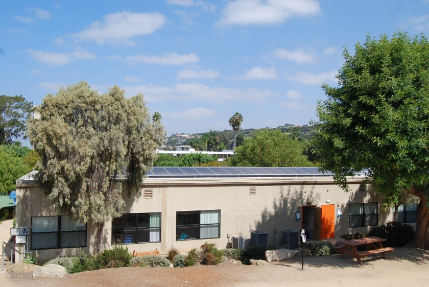 The Children's School is meeting all of its electricity needs through new solar panels.