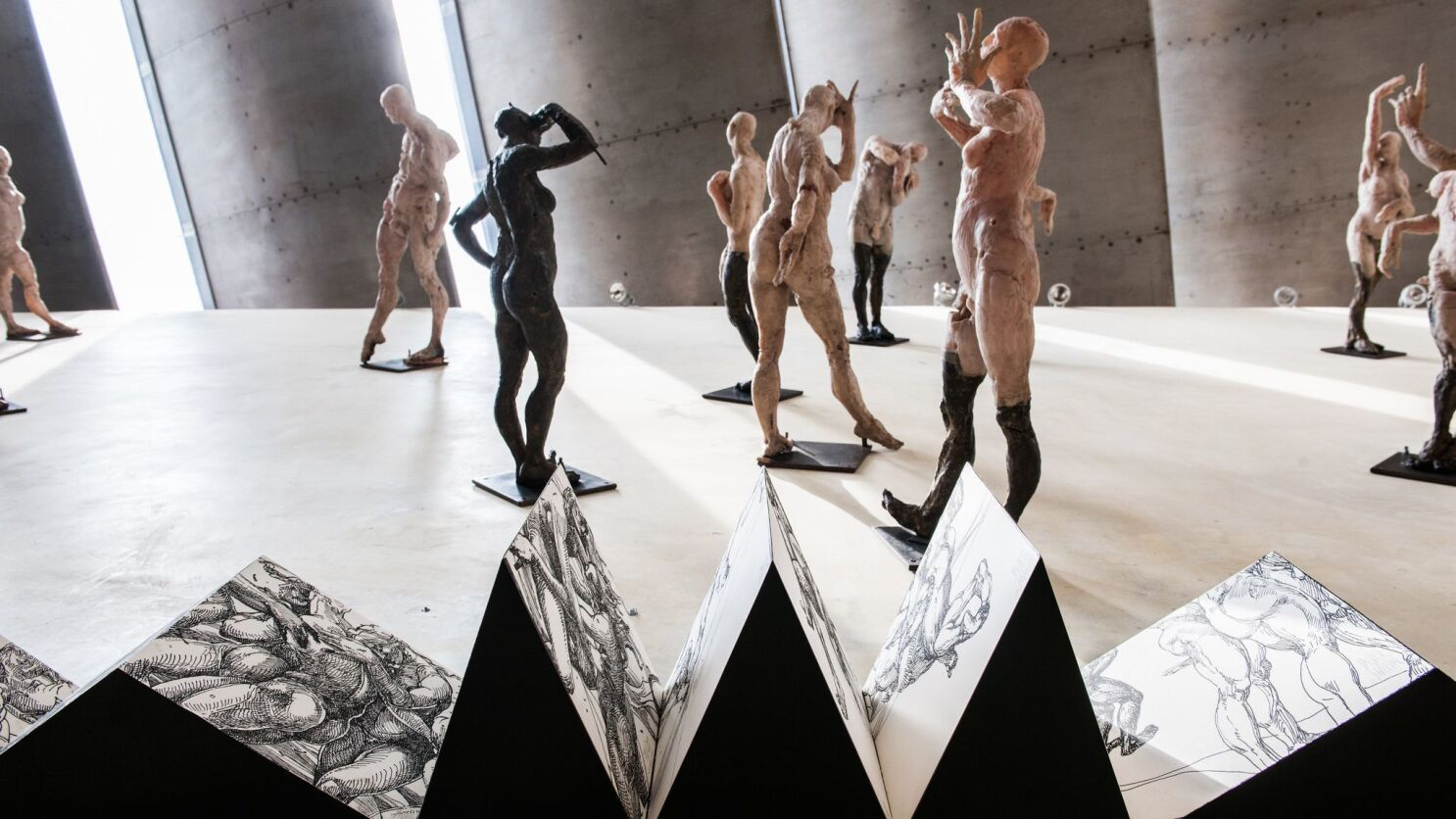 Mexican sculptor Javier Marín's body of work explores what it means to be human