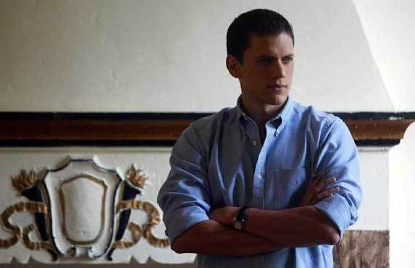 Wentworth Miller poses for a 2003 potrait in this archival photo.