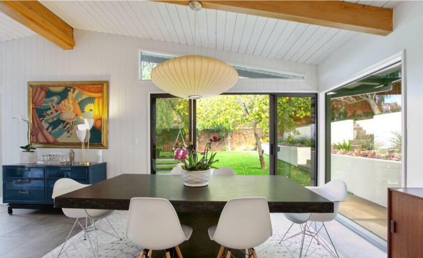 Annie Potts' Sherman Oaks Midcentury