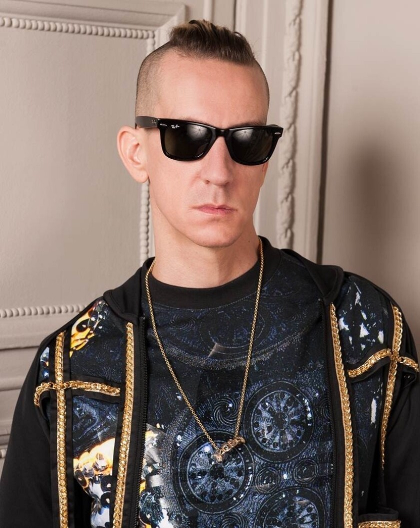 Designer Jeremy Scott has been appointed creative director of Moschino