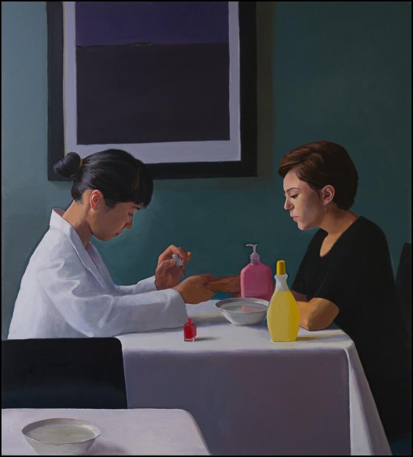 "Dan McCleary's ""The Manicure"" (2013)."