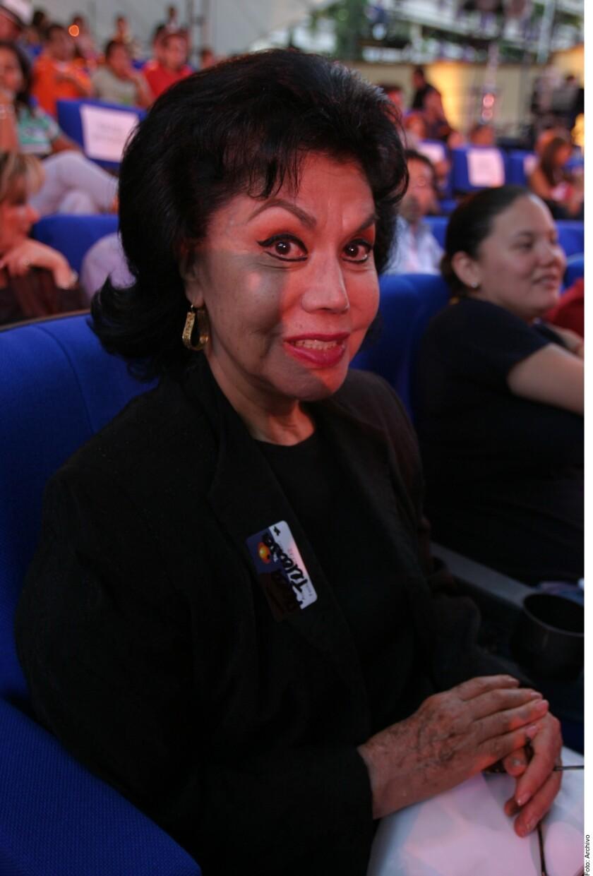 """Enriqueta """"Queta"""" Jiménez, """"La Prieta Linda"""", murió de causas naturales, a los 88 años, en su casa en la CDMX."""
