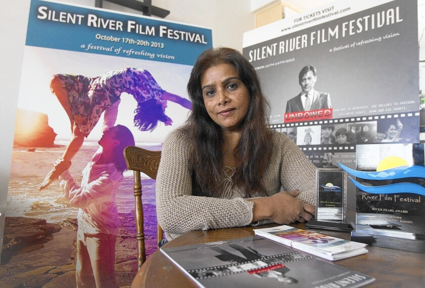 Kalpna Singh-Chitnis, pictured here in 2013, is the head of the Silent River Film Festival.
