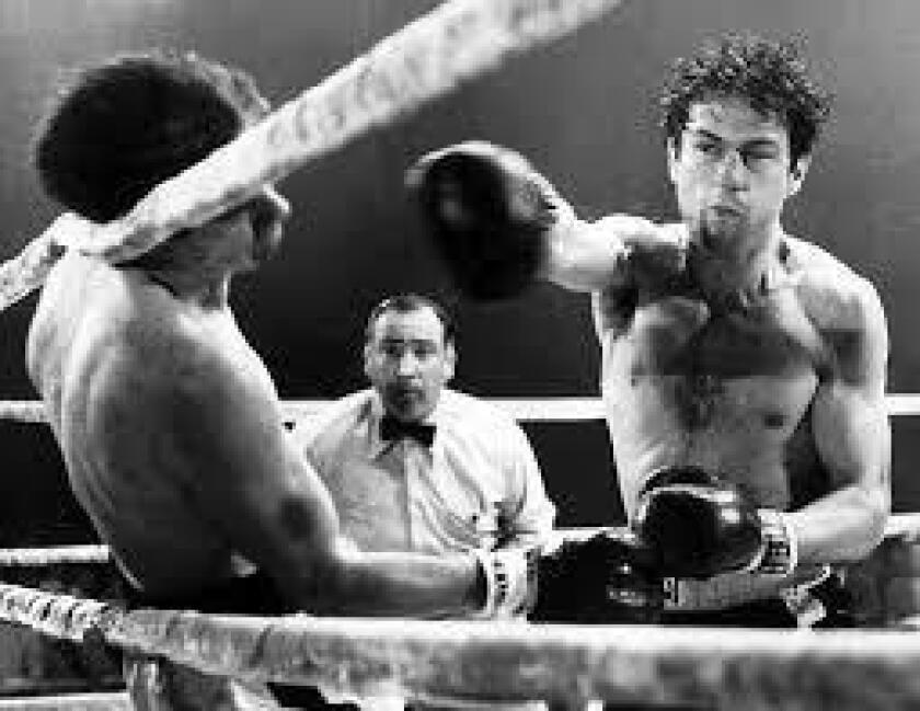 """Robert De Niro in 1980's """"Raging Bull."""""""