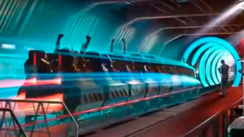 Warp Speed roller coaster coming to Paramount Park Murcia in Spain.