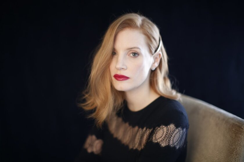 "Jessica Chastain stars as the title character in ""Miss Sloane,"" a thriller about politicians trying to quiet a lobbyist acting against their interests."