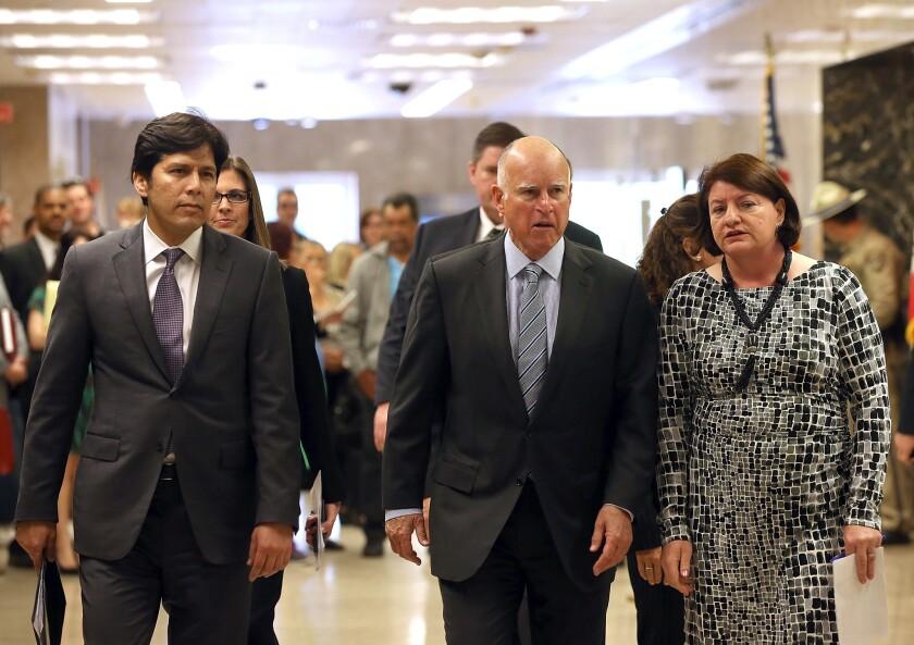 Gov. Jerry Brown Announces Emergency Drought Legislation