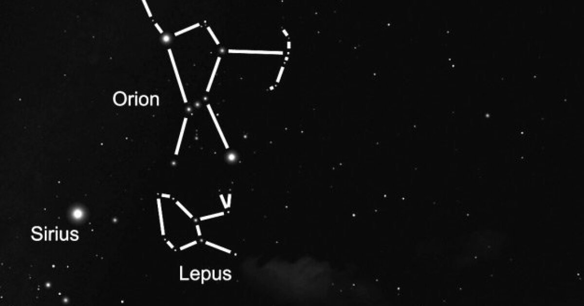 Hare-raising tale behind constellation Lepus - The San ...