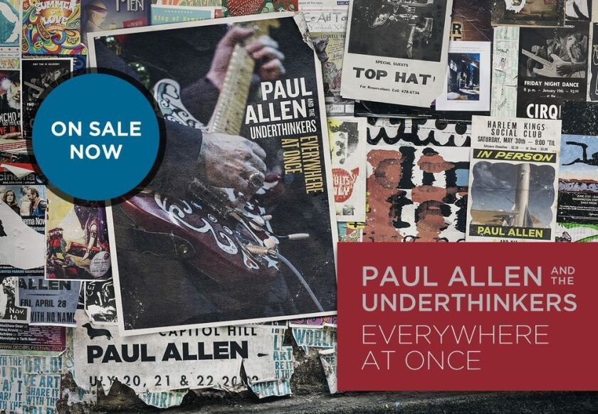 """An ad for Microsoft co-founder Paul Allen's """"Everywhere at Once."""""""