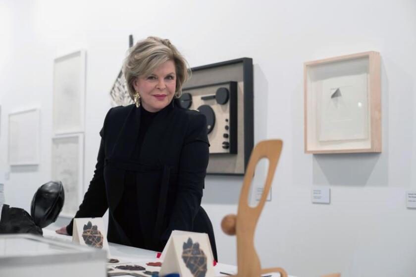 """Ella Fontanals Cisneros, una de las coleccionistas de arte contemporáneo más importantes del mundo, considera que tras un largo proceso para salir del """"olvido"""", los artistas latinoamericanos han sido reconocidos en los últimos años y están en su """"momento de éxito"""". EFE"""
