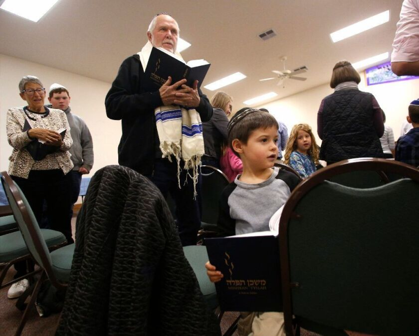 A small Jewish congregation in Central Valley comes to grips