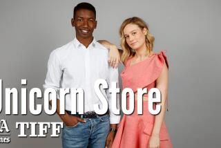 Brie Larson talks about her directorial debut 'Unicorn Store,' and bringing her vision to the screen