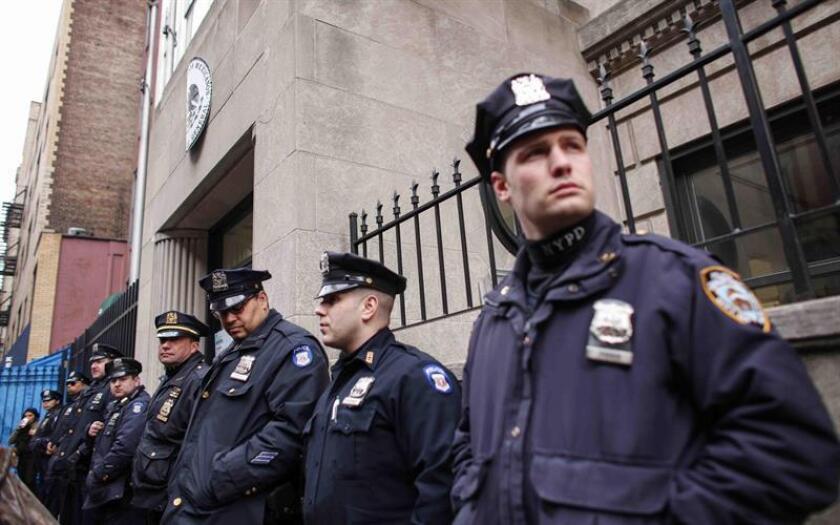 El Consulado de México en Nueva York lanzó hoy una ventanilla de asuntos de migración y ciudadanía para facilitar los servicios a la comunidad que brinda servicios y evitar que sean víctimas de fraude. EFE/ARCHIVO