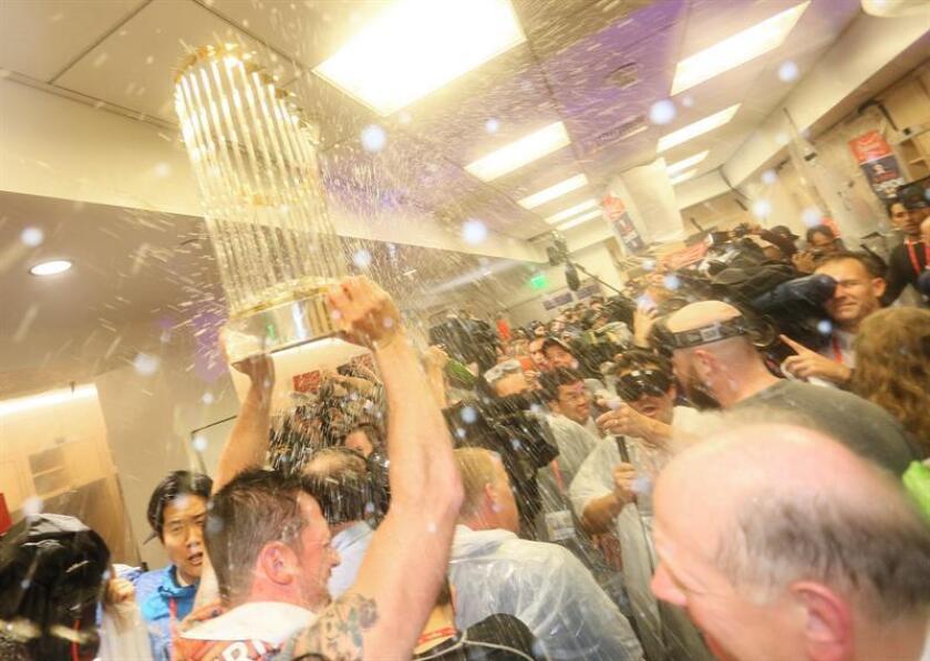 Esta vez Houston no tuvo un problema, celebra su primer título de Serie Mundial